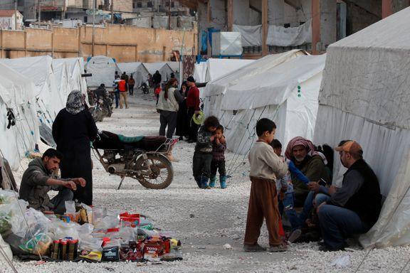 Tyrkia åpner grensene for syriske flyktninger på vei til Europa
