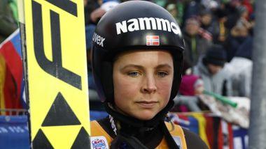Norges hoppstjerne slått igjen tross ny bakkerekord