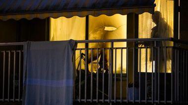 Beboer omkom i balkongbrann i Oslo