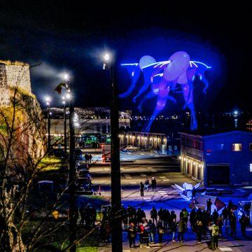 Kunstfestival lyste opp Oslo i helgen