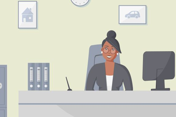 Hun synes jobben er kjedelig. Bør hun holde ut i håp om å klatre i systemet?