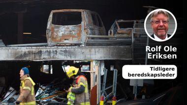 Branninfernoet på Stavanger Lufthavn er en skandale!