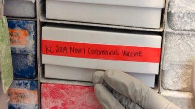 Den første koronavaksinen er sendt til testing