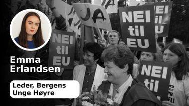 Høyre må ta kampen for norsk EU-medlemskap