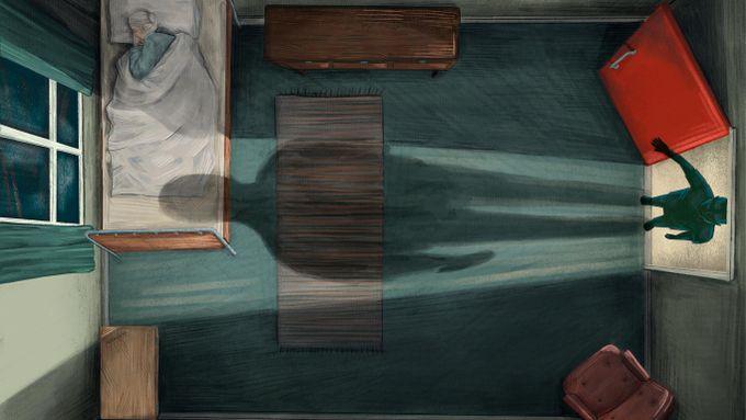 Ingen vet hva som skjedde på rommet til demenssyke Eva om natten. Bare at hun var redd for nattevakten.