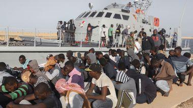 FN hardt ut mot retur av migranter til Libya