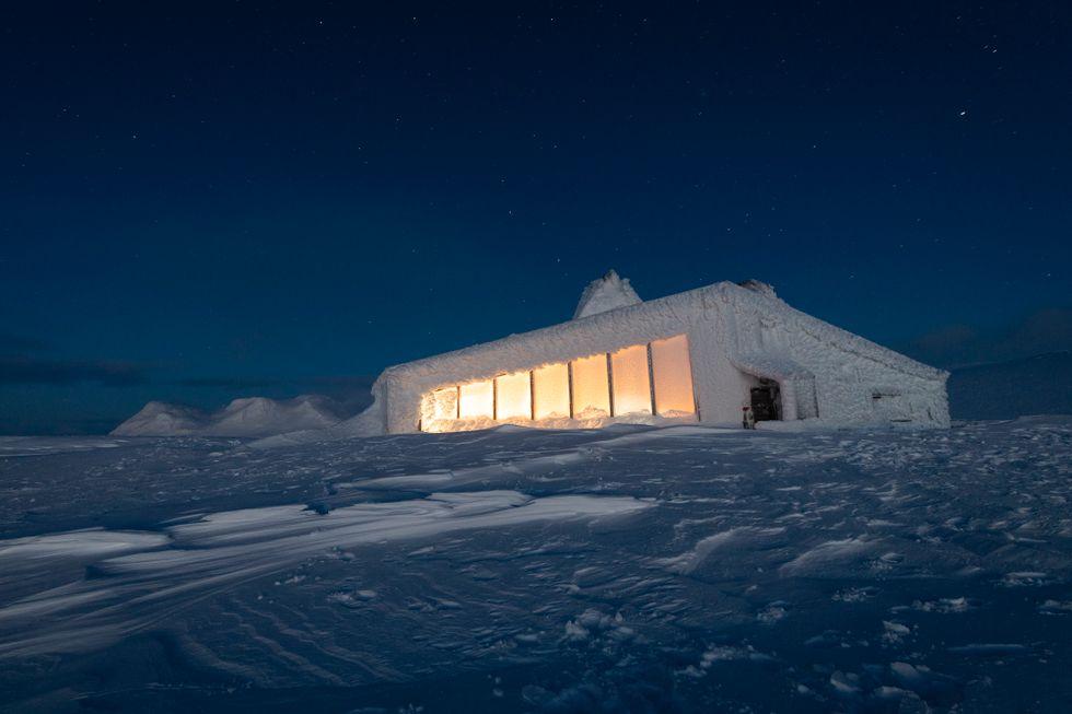 Sats på en annerledes julegave: Gi bort en tur til Nordlands heftigste hytte
