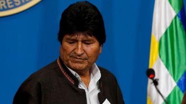 Morales på vei til Mexico
