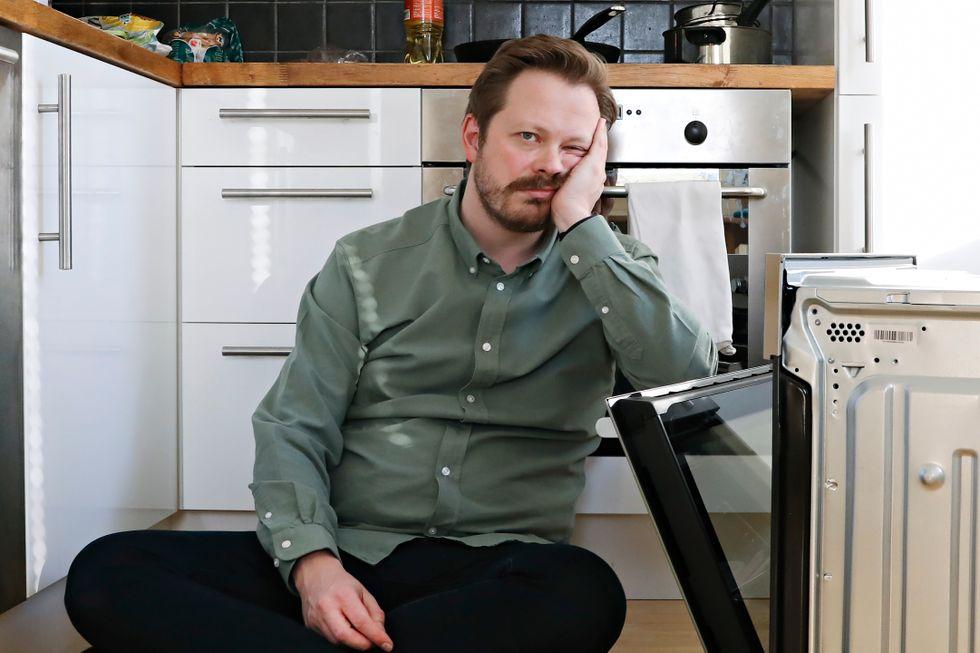 Einar Tørnquist: – Matlaging er absolutt det verste oppdraget i husholdningen