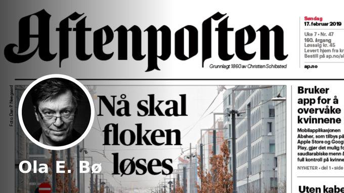 Kva er grunnen til at Aftenposten praktiserer språkleg tvang?