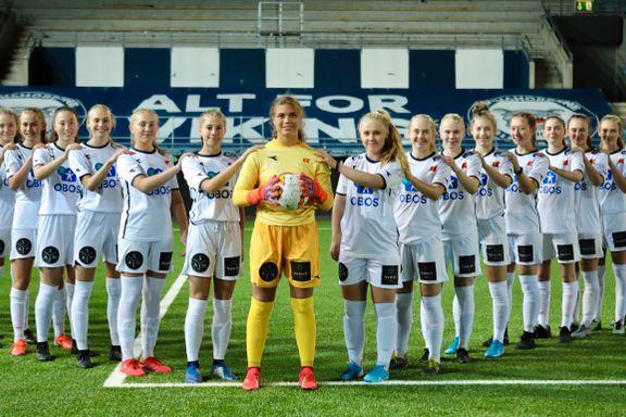 Viking-jentene først ut i tidenes cupfinaletokt