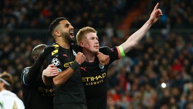 Manchester Citys drømmetriumf: Real Madrid raknet på fem minutter og så rødt