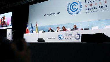 Ingen enighet på FNs klimakonferanse i Madrid :  - Ikke i nærheten av å være tilstrekkelig