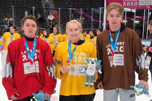 Tre lokale medaljer i ungdoms-OL