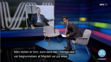 Vys styreleder ble grillet på NRK uten å være til stede. Nå forsvarer han lønnsavtalen.